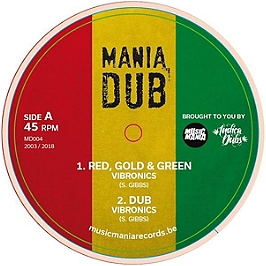 Red gold and green / terror, Vinyle 45T EP