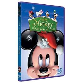 Mickey : il etait deux fois Noël, Dvd