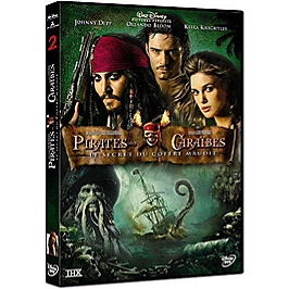 Pirates des caraibes 2 : le secret du coffre maudit, Dvd