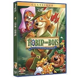 Robin des Bois, édition exclusive, Dvd