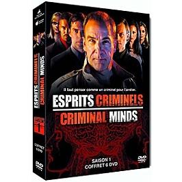 Coffret esprits criminels, saison 1, Dvd