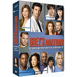Grey's anatomy, saison 3, Dvd