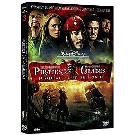 Pirates des caraibes 3 : jusqu'au bout du monde, Dvd