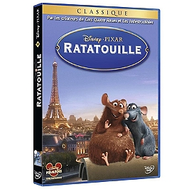 Ratatouille, Dvd