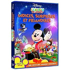 La maison de Mickey : indices, surprises et friandises, Dvd