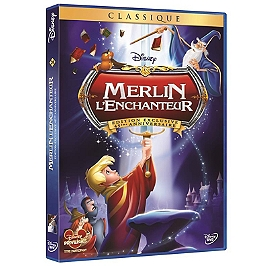 Merlin l'enchanteur, édition exclusive, Dvd