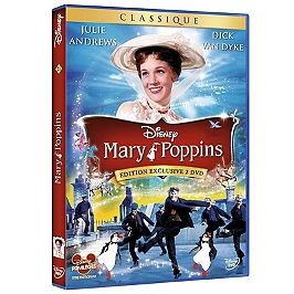 Mary Poppins, édition anniversaire, Dvd