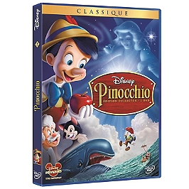 Pinocchio, édition collector, Dvd