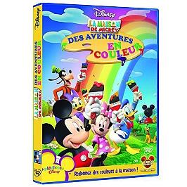La maison de Mickey : des aventures en couleur, Dvd