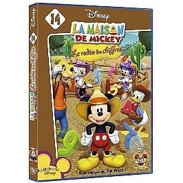 La maison de Mickey : le rodéo des chiffres, Dvd