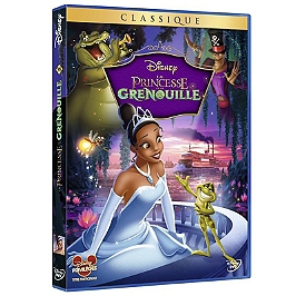 La princesse et la grenouille, Dvd