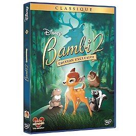 Bambi 2, édition exclusive, Dvd