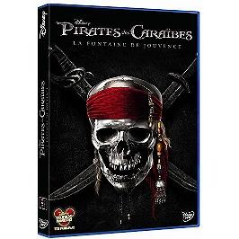 Pirates des Caraïbes 4 : la fontaine de jouvence, Dvd