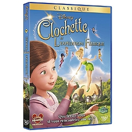Clochette et l'expédition féerique, Dvd