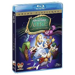 Alice au pays des merveilles, édition anniversaire, Blu-ray