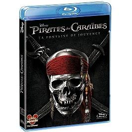 Pirates des Caraïbes 4 : la fontaine de jouvence, Blu-ray