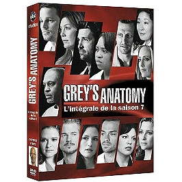 Coffret Grey's anatomy saison 7, Dvd
