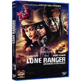 Lone ranger, naissance d'un héros, Dvd
