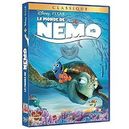 Le monde de Nemo, Dvd