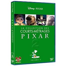 La collection des courts-métrages Pixar, vol. 2, Dvd