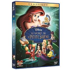 Le secret de la petite sirène, Dvd