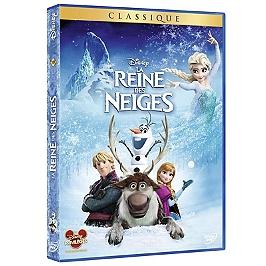 La reine des neiges, Dvd