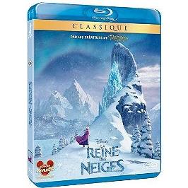 La reine des neiges, Blu-ray