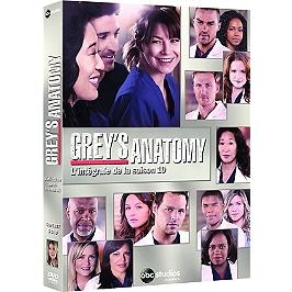 Coffret Grey's anatomy, saison 10, Dvd