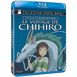 Le voyage de Chihiro, Blu-ray