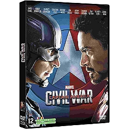 Captain America 3 : civil war, Dvd