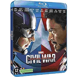 Captain America 3 : civil war, Blu-ray