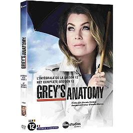 Coffret Grey's anatomy, saison 12, Dvd