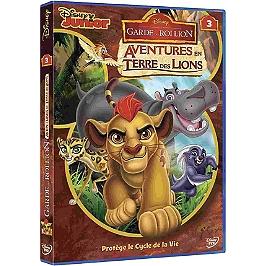 La garde du roi lion : aventures en terre des lions, vol. 3, Dvd