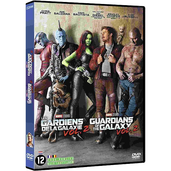 Dvd Les Gardiens De La Galaxie Vol 2 Espace Culturel E Leclerc