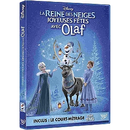 La reine des neiges : joyeuses fêtes avec Olaf, Dvd