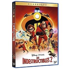 Les Indestructibles 2, Dvd