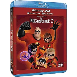 Les Indestructibles 2, Blu-ray 3D