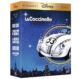 Coffret la Coccinelle 5 films, Dvd