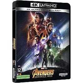 Avengers 3 : infinity war, Blu-ray 4K