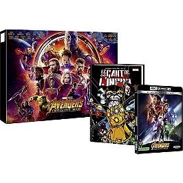 Avengers 3 : infinity war - édition spéciale E. Leclerc Inclus le BR 4k + BR du film + comic book le gant de l'infini, Edition spéciale E.Leclerc, Blu-ray 4K