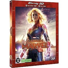 Captain Marvel, Blu-ray 3D