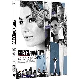 Coffret Grey's anatomy, saison 14, Dvd