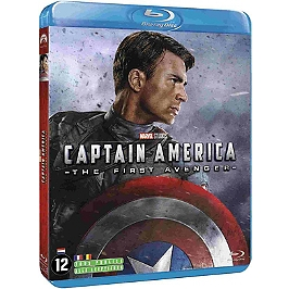 Captain America : first Avenger, Blu-ray