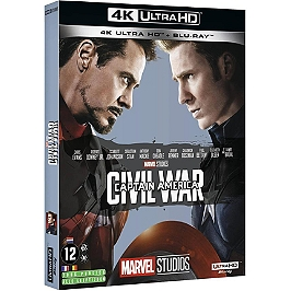 Captain America 3 : civil war, Blu-ray 4K