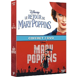 Coffret Mary Poppins 2 films : Mary Poppins ; le retour de Mary Poppins, Dvd