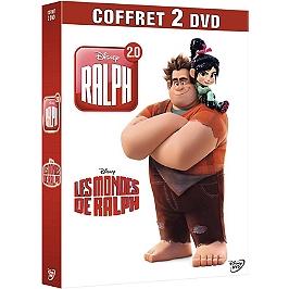 Coffret Ralph 2 films : les mondes de Ralph ; Ralph 2.0, Dvd
