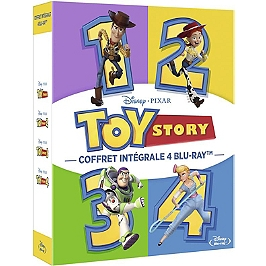 Coffret toy story 1 à 4, Blu-ray