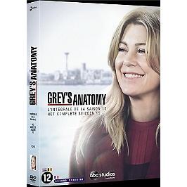 Coffret Grey's anatomy, saison 15, Dvd