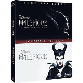 Coffret Maléfique 1 et 2 : Maléfique ; le pouvoir du mal, Blu-ray