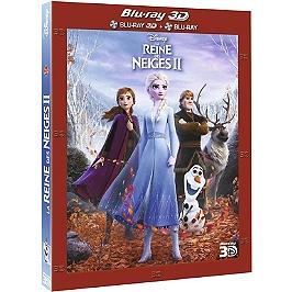 La reine des neiges II, Blu-ray 3D